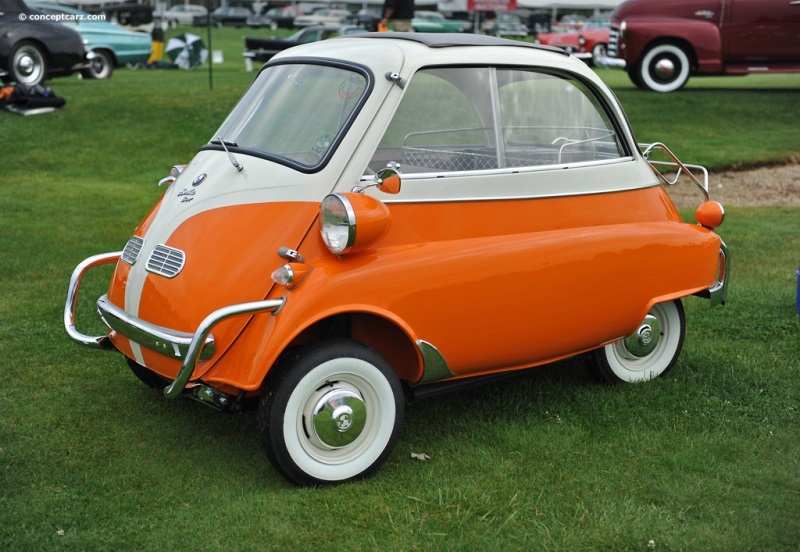1957 BMW Isetta History  Pictures  Value  Auction Sales  Research     1957 BMW Isetta vehicle information
