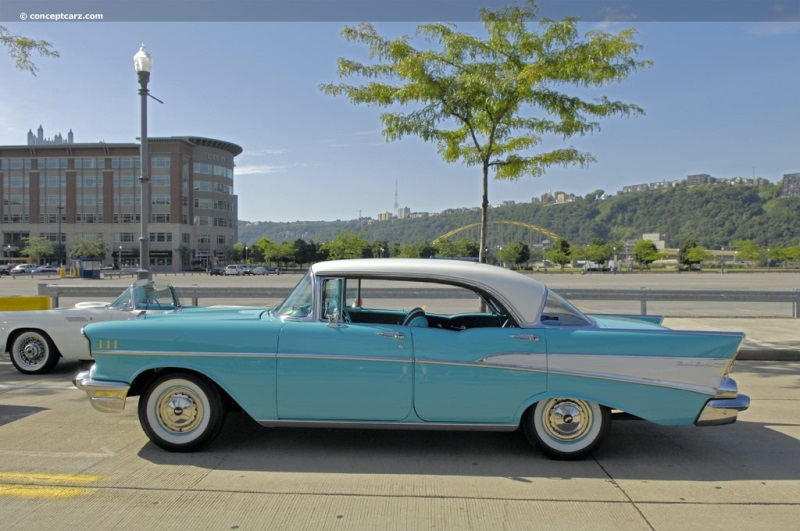 1957 Chevrolet Bel Air History  Pictures  Value  Auction Sales     Chevrolet Bel Air pictures and wallpaper