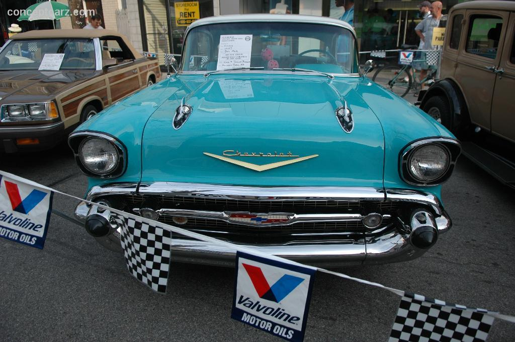 1957 Chevrolet Bel Air Specifications
