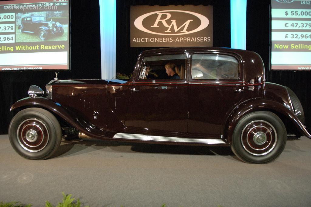 1932 Rolls Royce 20 25 Conceptcarz Com