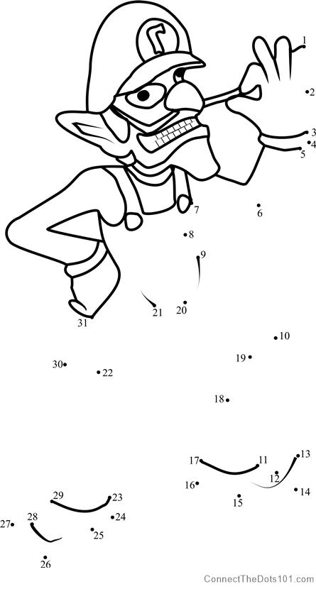 Mario Dot Dot Printables