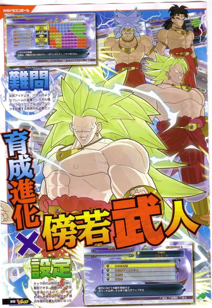 3 Dragon Ball Z And All Raging Blast Transformations Characters
