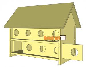Purple Martin Bird House Plans Step 10 Construct101