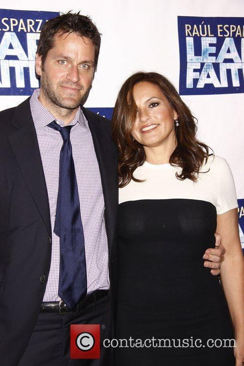 Peter Hermann - Opening night of the Broadway musical Leap ...