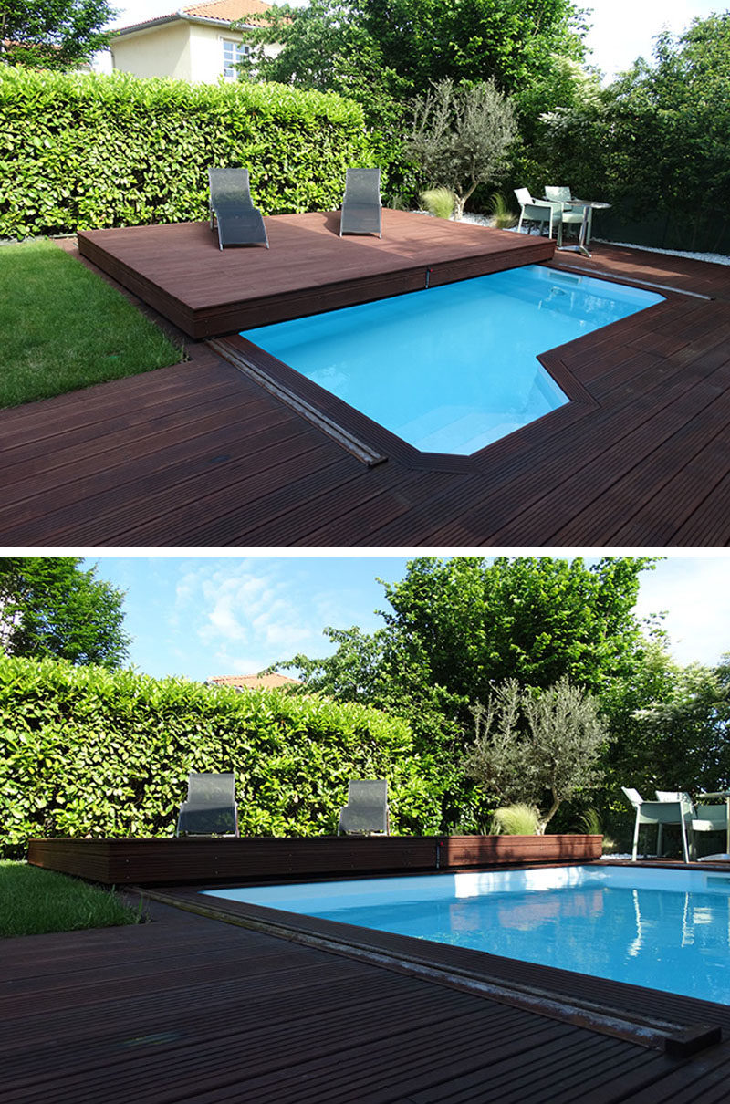 Deck Design Idea This Raised Wood Deck Is Actually A