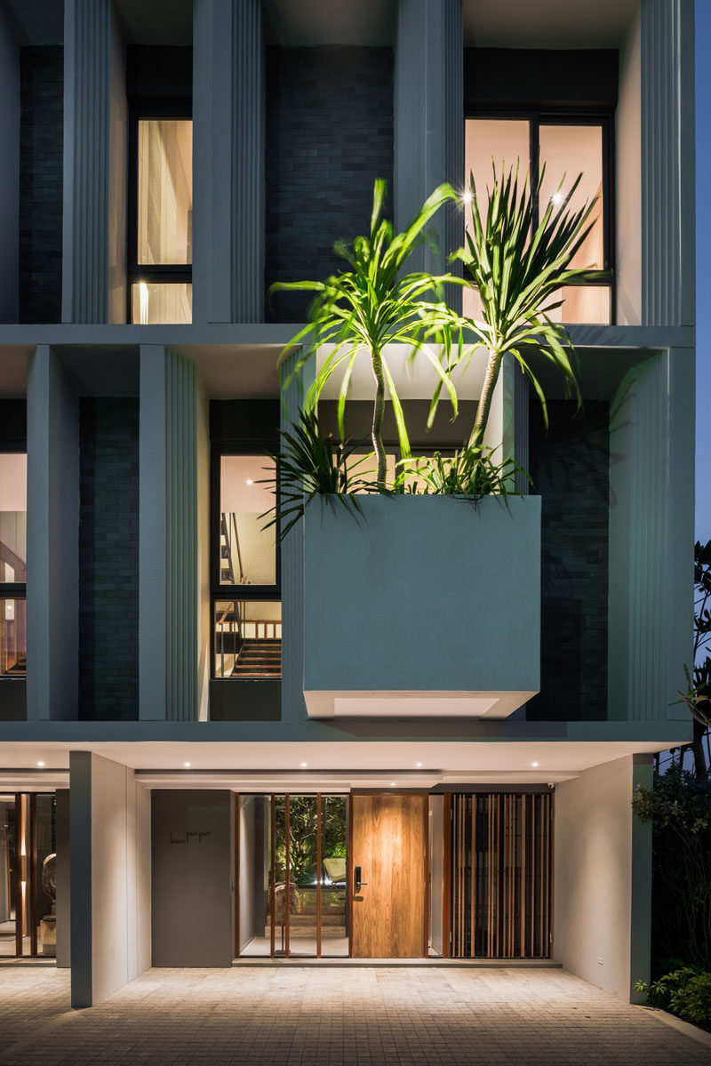 Large Contemporary Planters