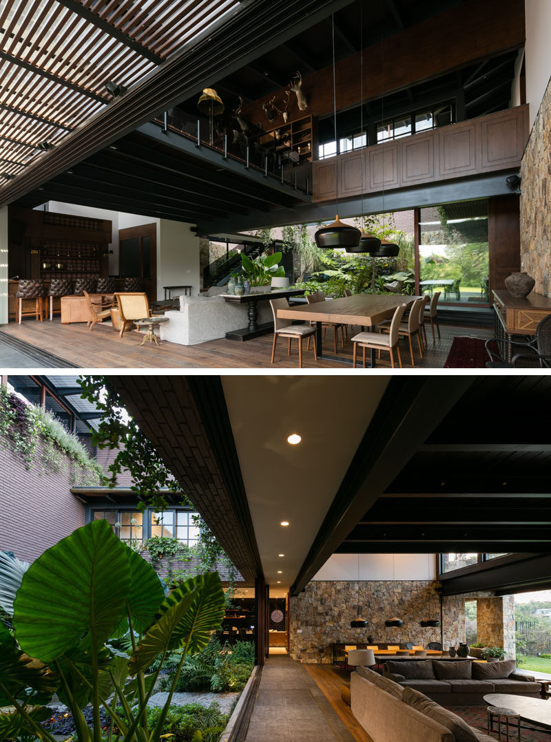 This Contemporary House In Mexico Is Surrounded By Nature
