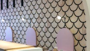 The Duju Patisserie Features U Shaped Design Elements