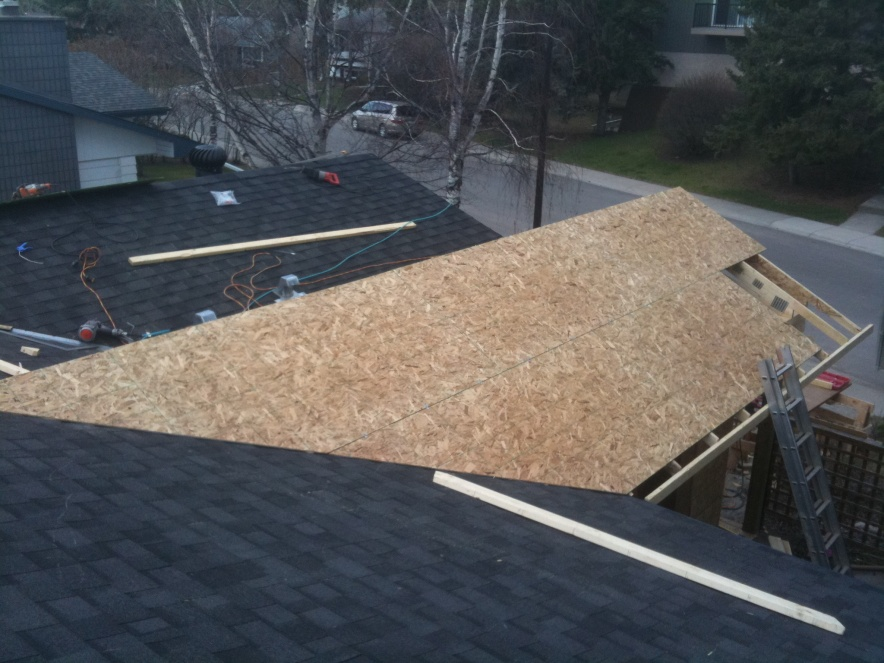 Gable Roof Tying Existing Roof