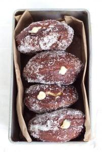 Vanilla Cream-Filled Donuts