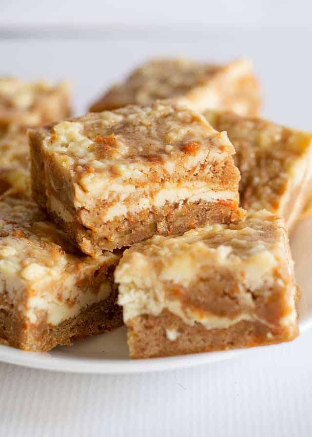 dessert recipes bars Carrot Cake Bars