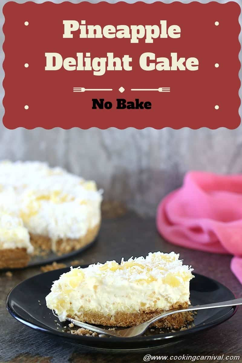 Bake Pineapple Cake