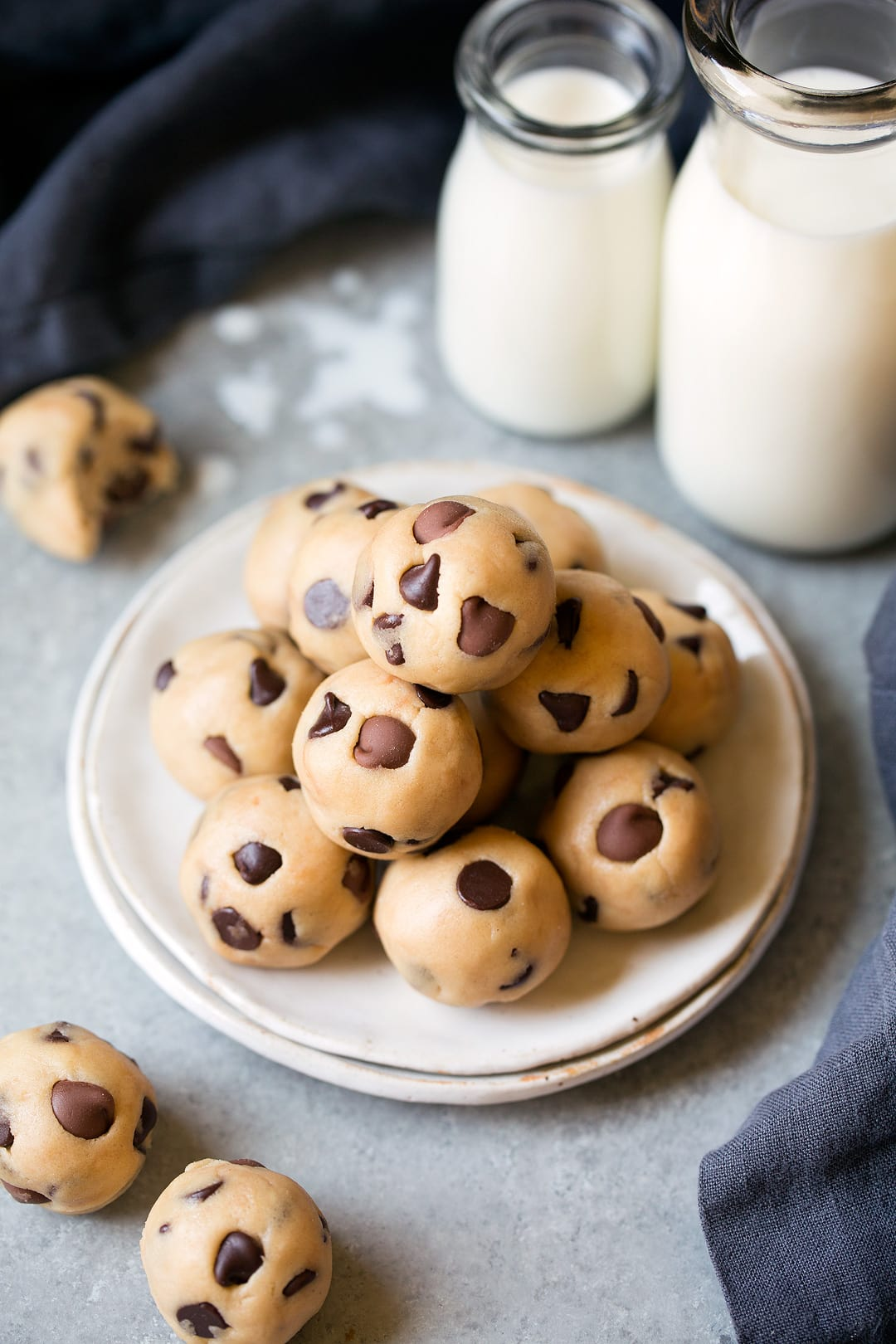 Chocolate Chip Cookie Dough Bites Cooking Classy
