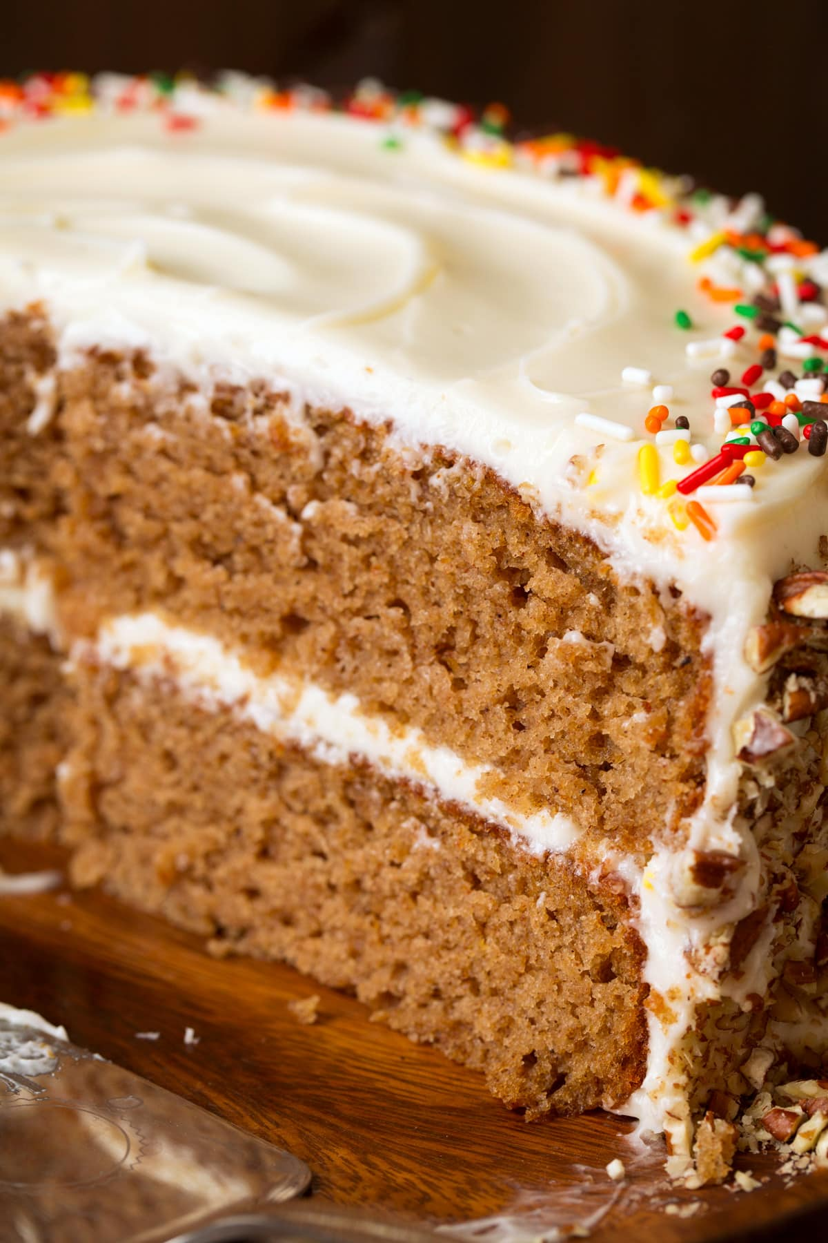 Spice Cake Best Ever With Cream Cheese Frosting