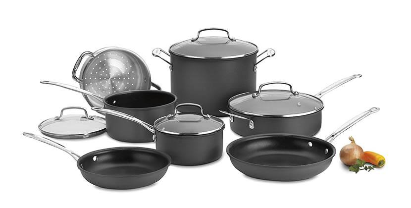 Cuisinart 66-11 Classic Nonstick Hard-Anodized 11-Piece Cookware Set Review