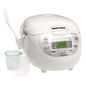 Zojirushi NS-ZCC10 (Uncooked) Neuro Fuzzy Rice Cooker and Warmer Review