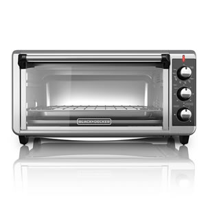 BLACK+DECKER TO3250XSB 8-Slice Convection Countertop Oven Review -best countertop convection ovens