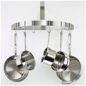 Cuisinart CRHC-22B Wall-Mount Pot Rack