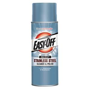 Easy Off Stainless Steel Cleaner and Polish, 17 ounce Review