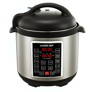 GoWISE USA GW22623 4th-Generation Electric Pressure Cooker  Review