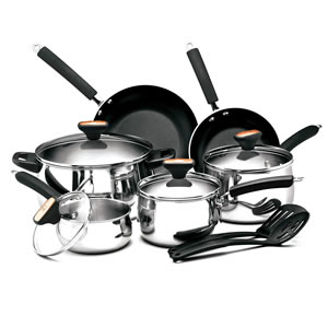 Paula Deen Stainless Steel II 12-Piece Cookware Set Review