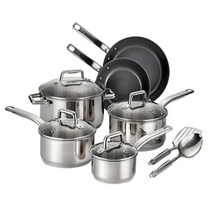 T-fal C718SC Stainless Steel 12-Piece Cookware Set Review