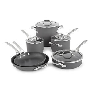 Calphalon Hard Anodized 10-piece Nonstick Cookware Set Review