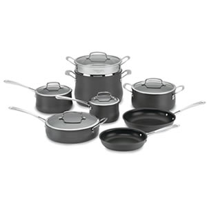 Cuisinart 64-13 Contour Hard Anodized 13-Piece Cookware Set Review
