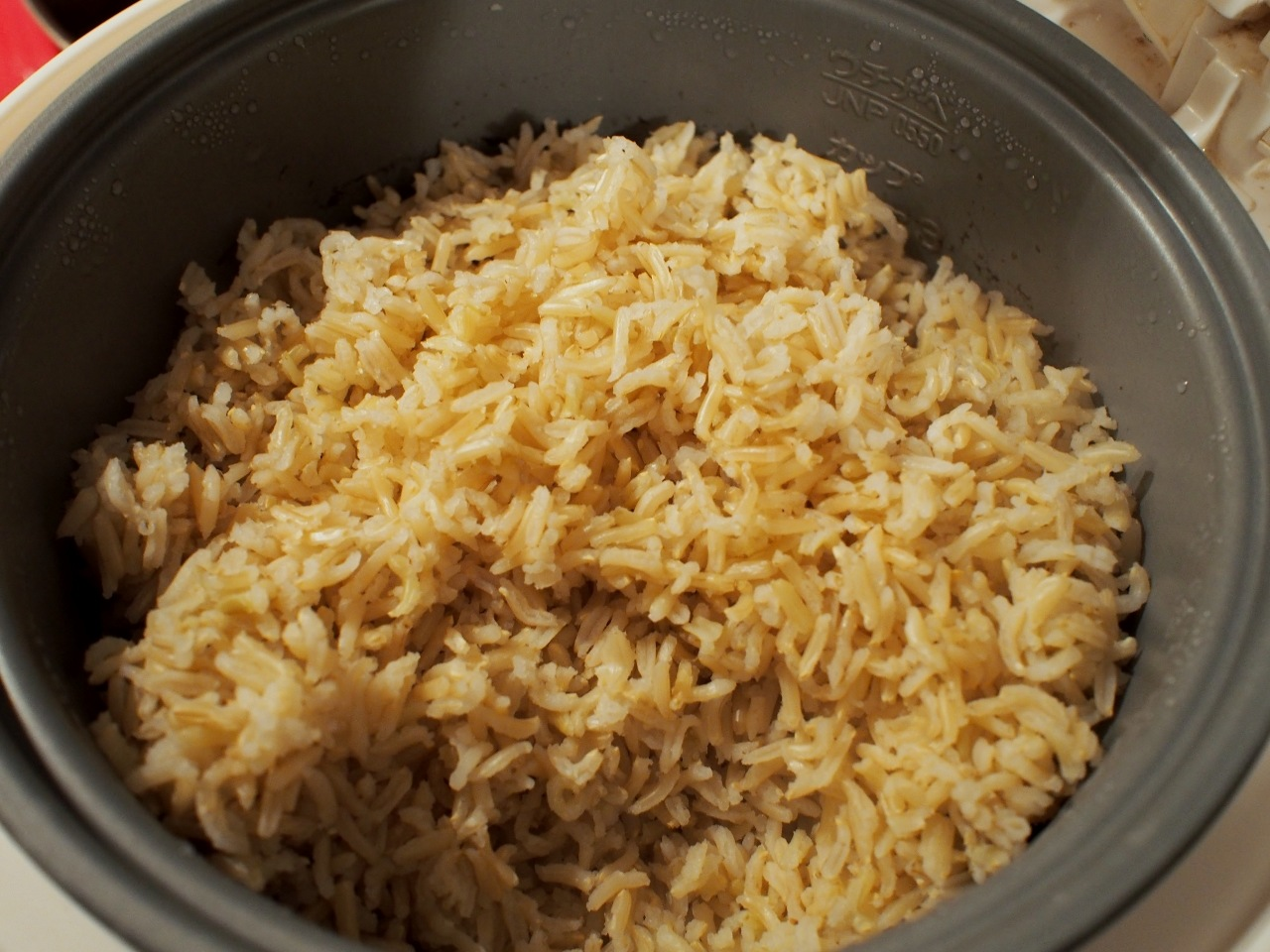 Rice cooker -brown rice