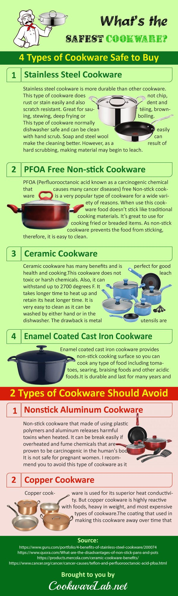 What's-the-best-safest-cookware