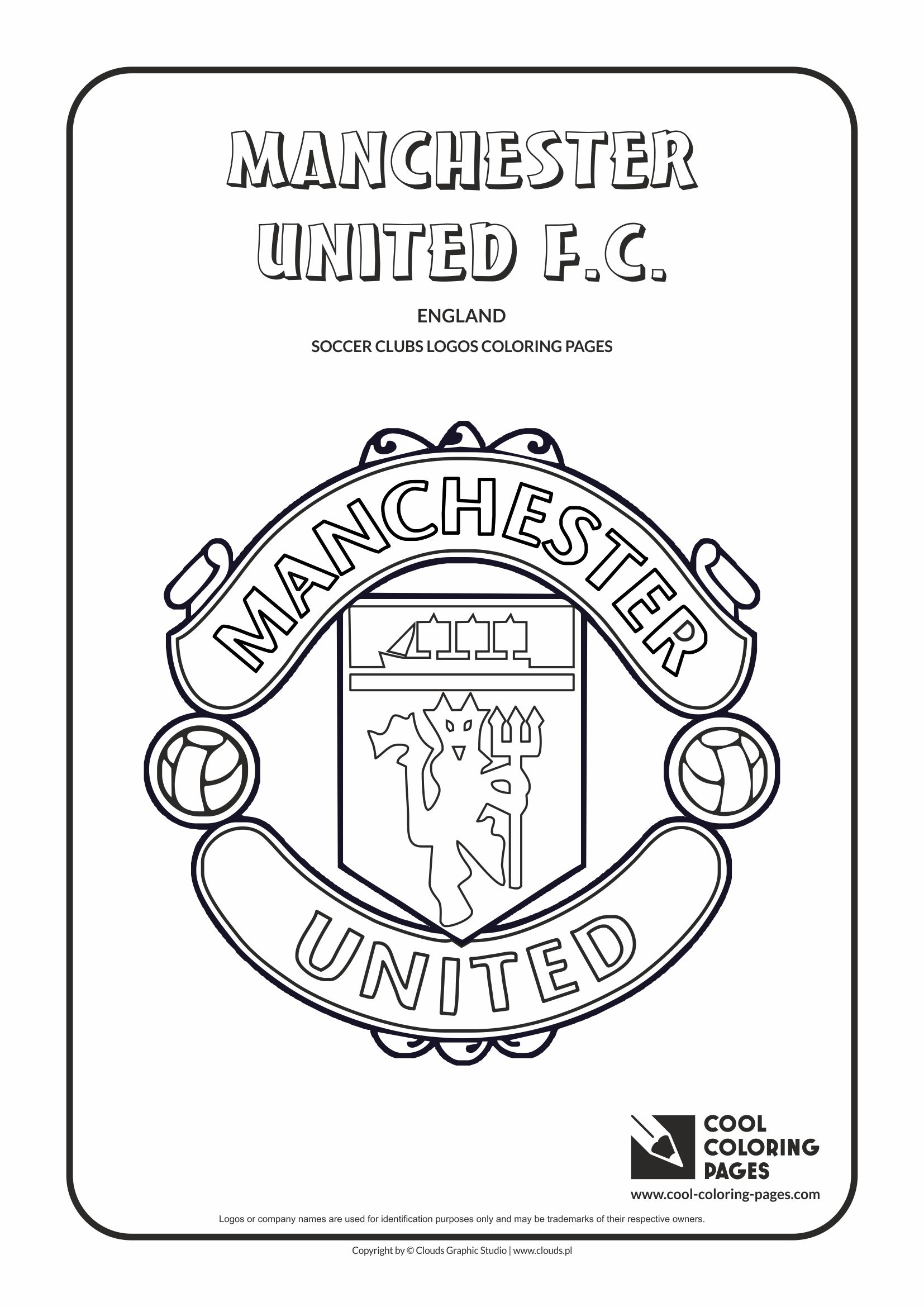 Cool Coloring Pages Soccer Clubs Logos Cool Coloring Pages Free ...