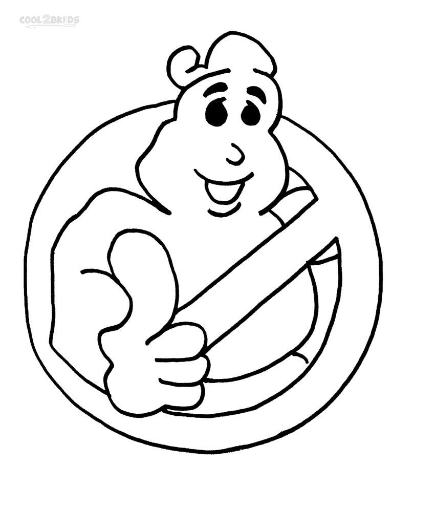 Printable Ghostbusters Coloring Pages For Kids Cool2bkids