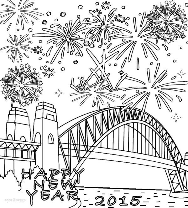 firework coloring pages # 11