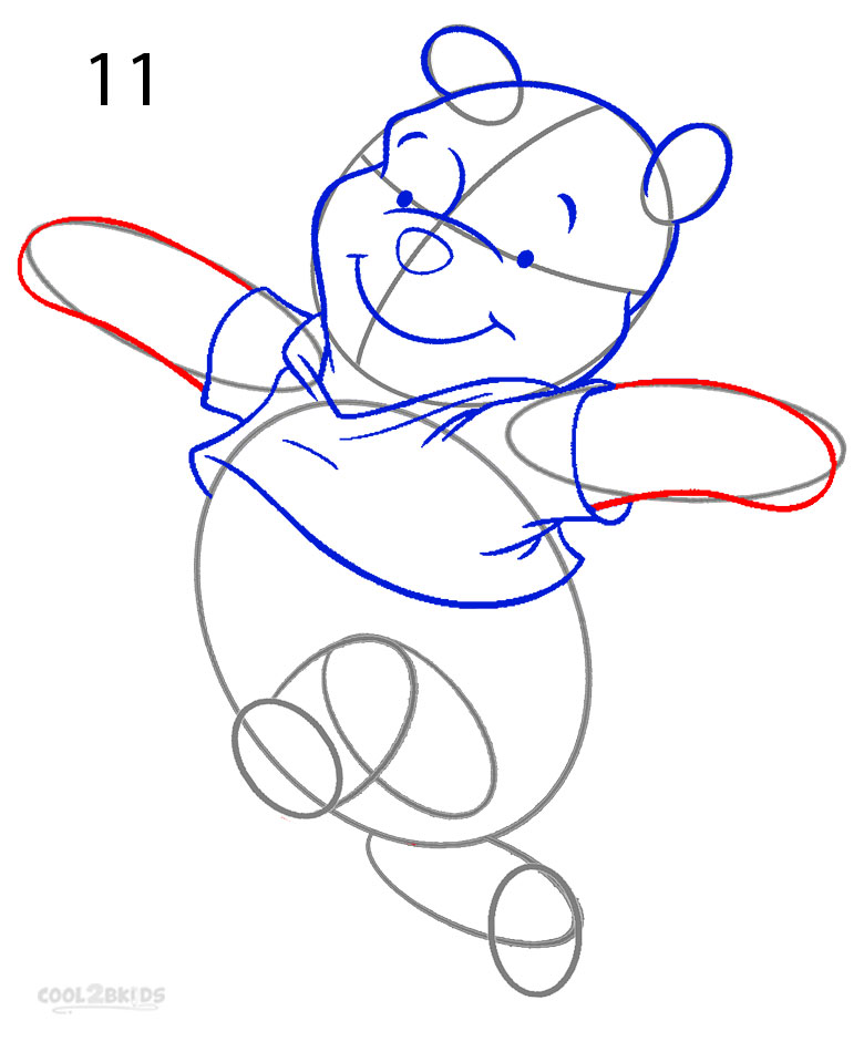 How to Draw Winnie the Pooh (Step by Step Pictures ...