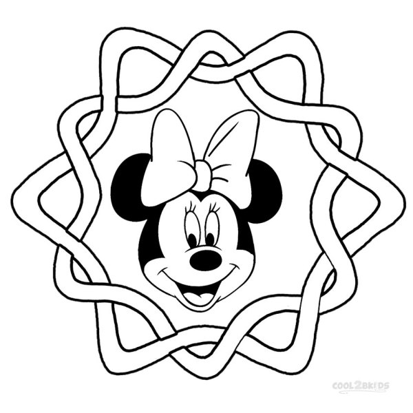 free minnie mouse coloring pages # 18