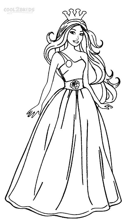 Printable Coloring Pages Girls Fashion