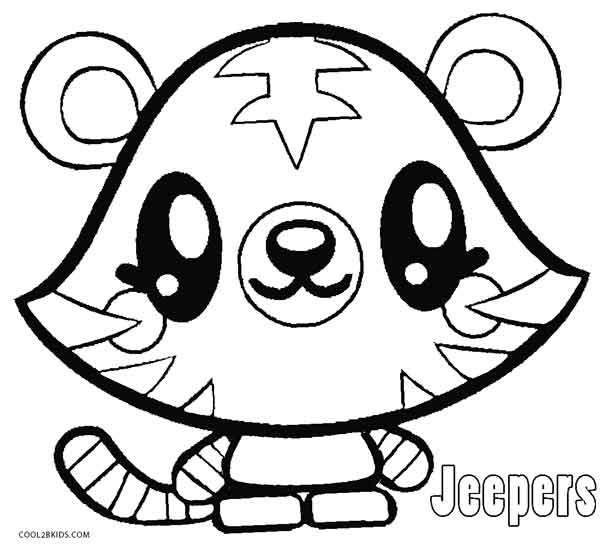 moshi monsters coloring pages # 4