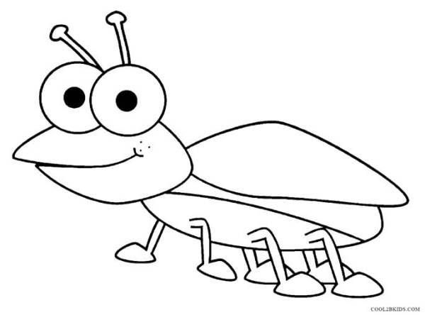 bug coloring page # 9