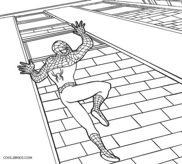 spiderman coloring pages online # 10