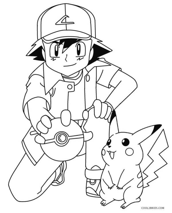 pokeman coloring pages # 55