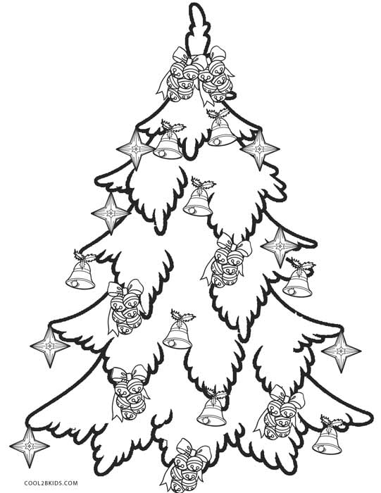 coloring pages of christmas trees # 16