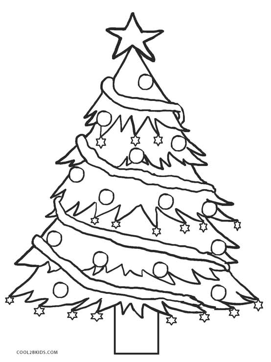 coloring pages of christmas trees # 22