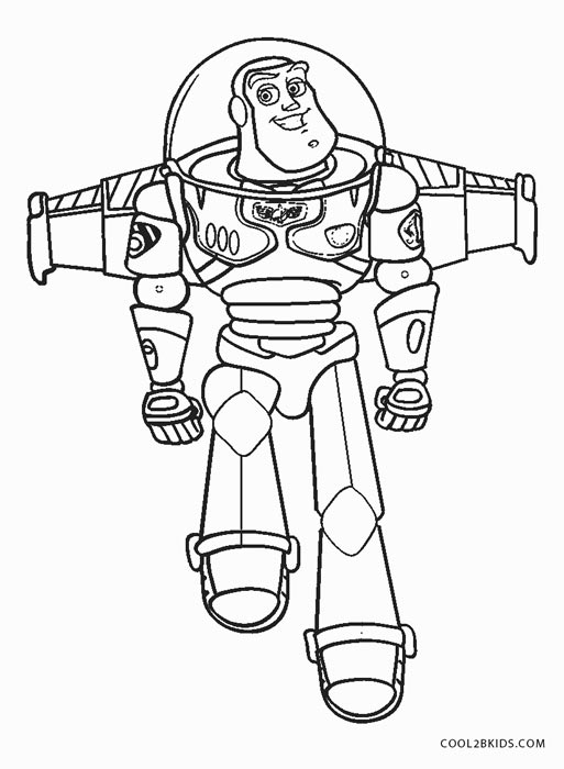 buzz lightyear coloring page # 19
