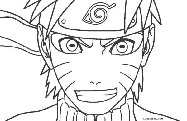 naruto shippuden coloring pages # 56
