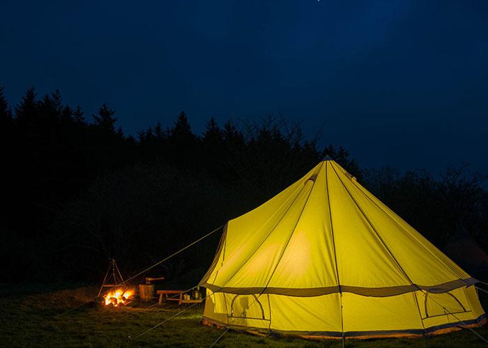 The Bell Tent Cool Canvas Pany & Luxury Tent Hire Cornwall - Best Tent 2018