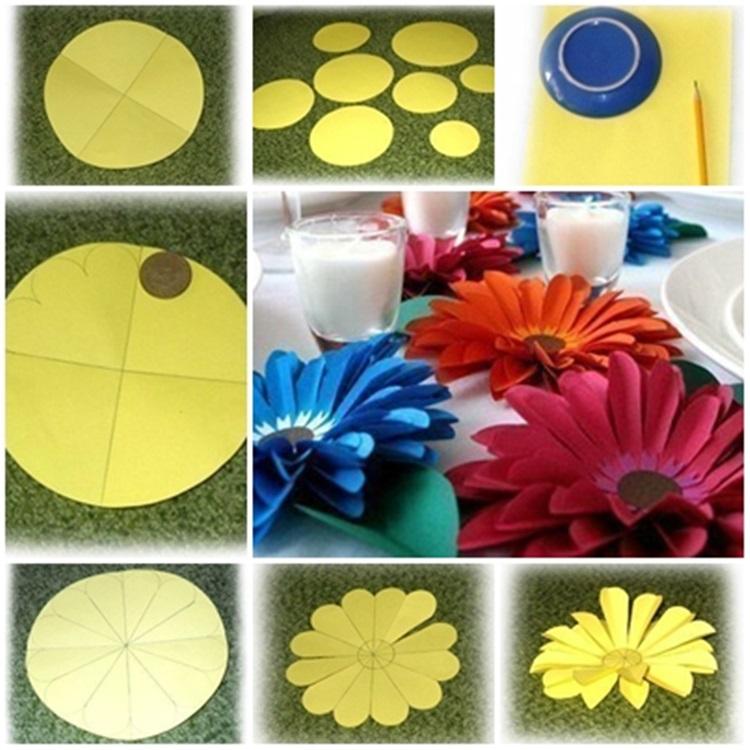 Diy Easy Paper Flower