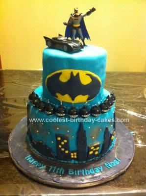 Coolest Batman Birthday Cake Design 48
