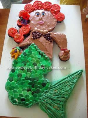 Coolest Mermaid Birthday Cake Design 112