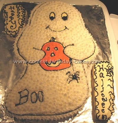 Coolest Ghost Cake Photos And How To Tips