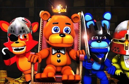 fnaf   Cool Math Games for Kids FNaF World